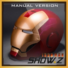 [Manual Version] Cattoys 1:1 Iron Man Mark 3 Helmet MK3 Replica w/ LED