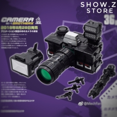 [Pre-Order] MechFansToys Mech Fans Toys MFT MF-36B MF36B Camera Brothers Reflector Black Version