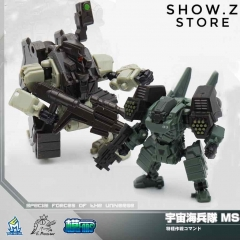 MechFansToys Mech Fans Toys MFT Lost Planet Powered-suit MS04 Tiger& MS06 Snake Diaclone