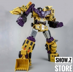 [Sample][USA Buyer Only]Toyworld TW-C07B Constructor Devastator Yellow Set of 6