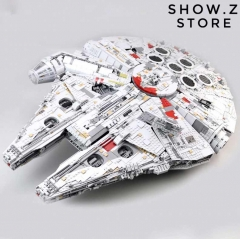[No Box] Lepin 05132 Ultimate Millennium Falcon 75192 8445Pcs Star Wars Series The Force Awakens