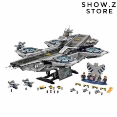[No Box] Lepin 07043 The SHIELD Helicarrier 76042 3057Pcs Marvel Super Hero Series S.H.I.E.L.D