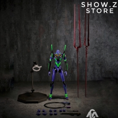 MetalCentury MC-101 Neon Genesis Evangelion Unit 001 Eva Initial Machine Metal Build Style