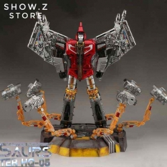 [Pre-Order] GigaPower GP HQ-05R Gaudenter Swoop Red Chrome Version