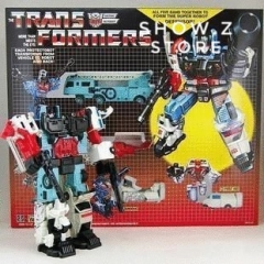 4th Party G1 Defensor Devastator 5 Figures Set