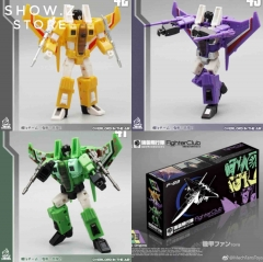 MechFansToys MFT F-03 F03 Overload Fighter Club MF-41 Corrosioner MF-42 Solarhalo MF-43 Consciouser Set Of 3
