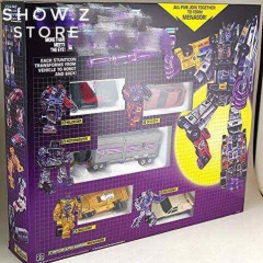 4th Party G1 Menasor Stunticons 5 Figures Set