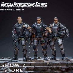 [Pre-Order] JoyToy Source Acid Rain 1/18 Russian Reengineering Soldier Wolf Team Set of 3 Figures