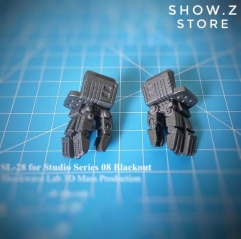 Shockwave Lab SL-28 SL28 Posable Hands for Studio Series SS-08 SS08 Blackout Upgrade Kit