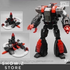 MechFansToys MFT Mech Fans Toys MF-34A MF34A Ancient Castle Giant Omega Supreme Special Black Version w/ DA-20