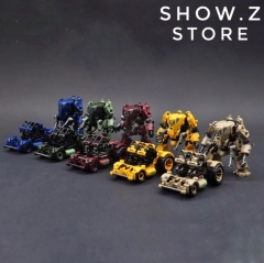 [Pre-Order] Rihio Multiabyss MM002 V-Link Mecha Defense and Engineering Set of 5