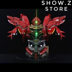 BSC Yihui YH Model 1/35 MSN-06S MNS06S SINANJU New Zeon Customized Gundam Bust Model Kit