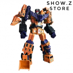 [Pre-Order] Toyworld TW TWC07E TW-C07E Orange Constructor Devastator Orange Version Set of 6
