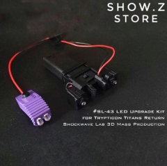 Shockwave Lab SL SL-43 SL43 Upgrade LED Kit for Titans Return Trypticon