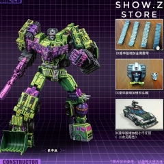 [Pre-Order] Toyworld TW TW-C07A TWC07A Constructor Devastator Cel Cell Shaded Deluxe Version Set of 6