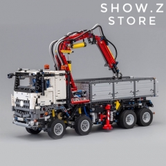 [No Box] Lepin 20005 Mercedes-Benz Arocs 3245 42043 2793Pcs Technic Series