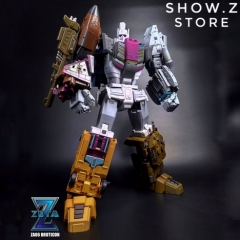 Zeta Toys ZA06 Bruticus Full Set of 6