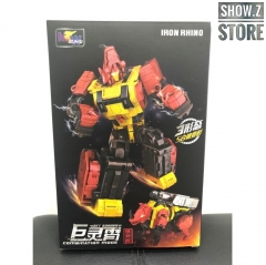 WeiJiang WJ Sky Soarer Headstrong Oversized Iron Rhino Combination Mode POTP Feral Rex Predaking