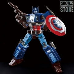 [Pre-Order] Lewin Resources LW-01A LW01A MP-10 MP10 Optimus Prime OP Captain America Style Oversized 71cm w/ LED
