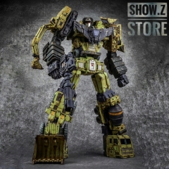 [Pre-Order] Toyworld TW TW-C07G TWC07G Constructor Devastator Old Green Version Set of 6