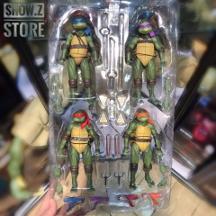 4th Party Teenage Mutant Ninja Turtles TMNT Action Figure Bundle GameStop Exclusive
