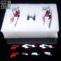 TheWind GN Sword Caletvwlch Weapon Upgrade Kit for MB MG MBF-P02 Gundam Astray Red Frame Set of 2