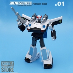 [Pre-Order] IronTrans M-01 M01 Mini Series Police Car Prowl