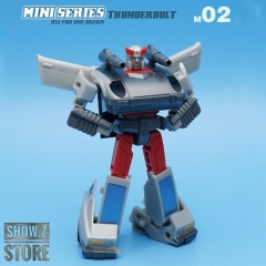 [Pre-Order] IronTrans M-02 M02 Mini Series Thunderbolt Silverstreak
