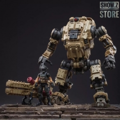 [Pre-Order] JoyToy Source Acid Rain 1/18 Freeman Machine Armor w/ Pilot Mechas & Soldiers Figure Set Desert Brown Version