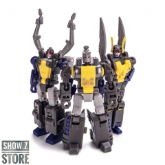 [Pre-Order] NewAge New Age NA H-10+ H10+ Abadon Kickback H-11+ H11+ Berial Shrapnel H-12+ H12+ Asmodeus Bombshell Insecticons Set of 3 Comic Version