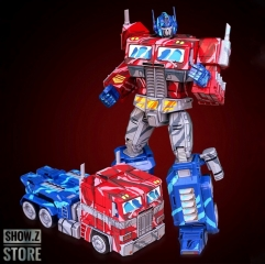 [Pre-Order] YueXing YX Transform World MMP-10E MMP10E Commander Optimus Prime OP Comic Cell Shaded Version