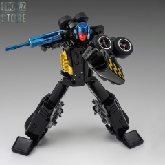 XTransbots X-Transbots XTB MX-XVI MXXVI MX-16 MX16 Overheat Drag Strip G2 Color Black Version Monolith Combiner Menasor