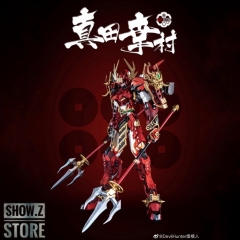 [Pre-Order] Devil Hunter DH DH-02 DH02 1/100 Red Musha Sanada Yukimura Gundam Metal Build Complete Model
