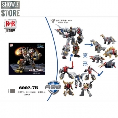 Black Mamba H6002-7B Robot Force Volcanicus Oversized Combiner Set of 5