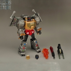 GigaPower GP HQ-01 HQ01 Superator Grimlock Dinobots Metallic Version