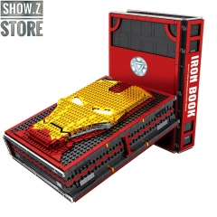 [Pre-Order] Sheng Yuan SY1361 Iron Book Iron Man Hall of Armor With Minifigures