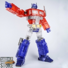 [Pre-Order] Lewin Resources LW-01B Optimus Prime Clear Limited Edition w/ LED
