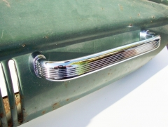 Split Screen Dash Grab Handle Aluminum in Chrome 50-67