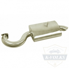 Phat Boy Muffer  3703 Stainless Steel
