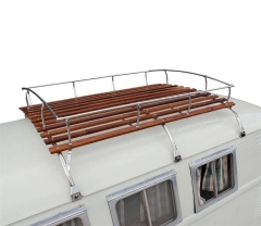 3 Bows Westfalia Roof Rack for Split Screen Bay Window Stainless Steel