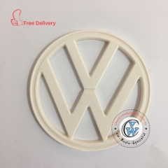 VW  EMBLEM FRONT Bay Window 1972-1979 182mm Ivory Kombi Type 2 BUS Volkswagen