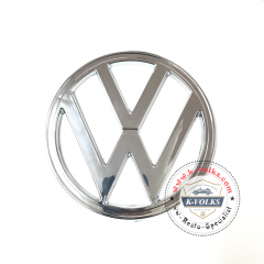 "EMBLEM FRONT "" VW "" 182mm CHROME PLASTIC FITS VOLKSWAGEN TYPE 2 BUS 1972-1979"