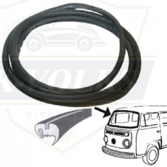 CAL LOOK FRONT WINDSHIELD SEAL  Fit Bay window 1968-1979