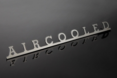 "Script ""AIRCOOLED"" Stainless Steel"