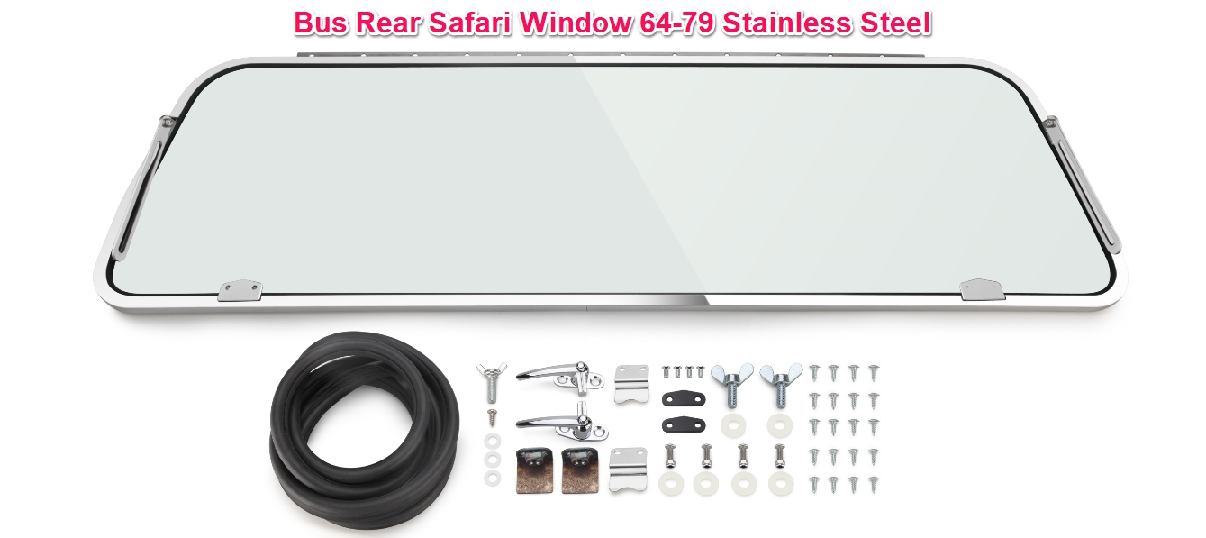 Stainless Steel Bus Rear Safari Kit