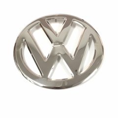 "Type 2 Bus Splitscreen Front ""VW"" Emblem Badge Stainless Steel 1950-1967"