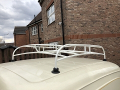 Vintage Mini Cooper Roofrack  Powerd in Ivory