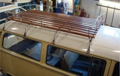 4 Bows Westfalia Roof Rack for Split Screen Bay Window Stainless Steel