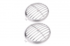 Deluxe Stainless Steel VW Split Screen/Porsche 356 Headlight Grilles