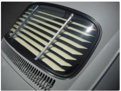 Beetle Aluminium Beetle Rear Window Venetian Blinds 1965-1971